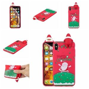 Accessories - NEW iPhone X/XS Red 3D Santa Case